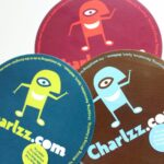 Das Foto zeigt Werbeartikel von Charlzz