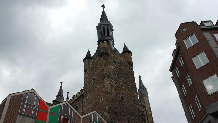 Das Foto zeigt einen Turm