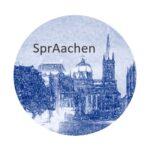 Das Foto zeigt das Logo der SprAachen