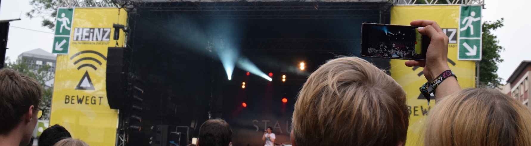 Staubkind-Konzert bei Bochum Total. ©mhu