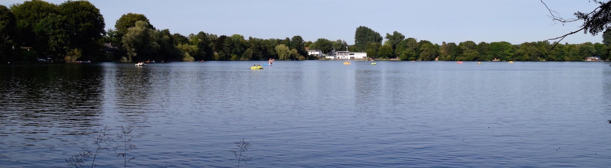 Der Wambachsee bietet viele Wassersportmöglichkeiten. ©mhu