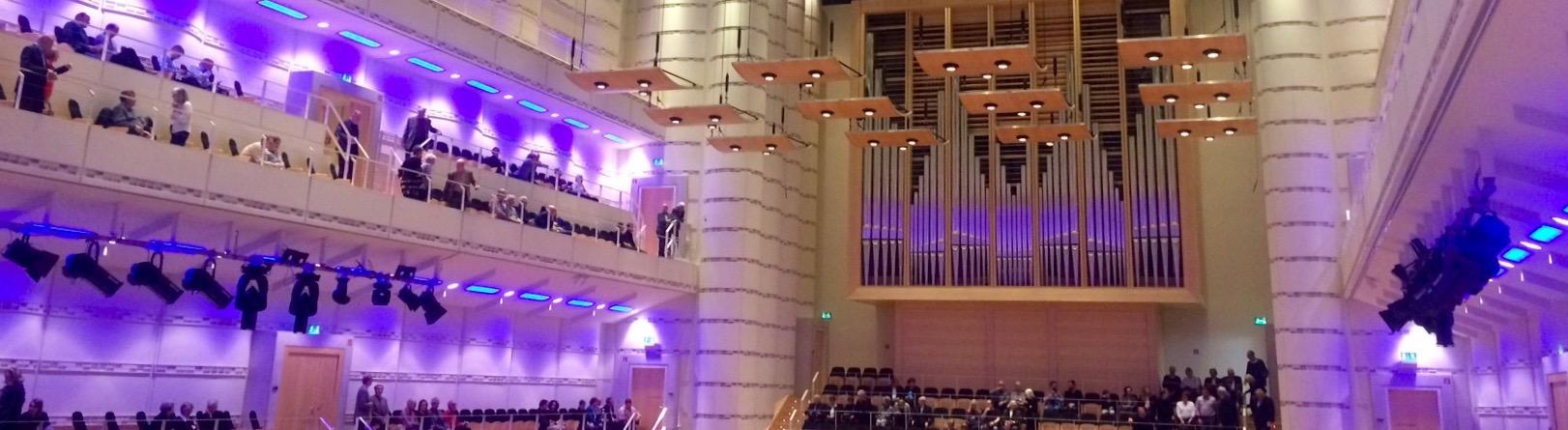 Lichtstimmung im Konzerthaus Dortmund. ©mhu