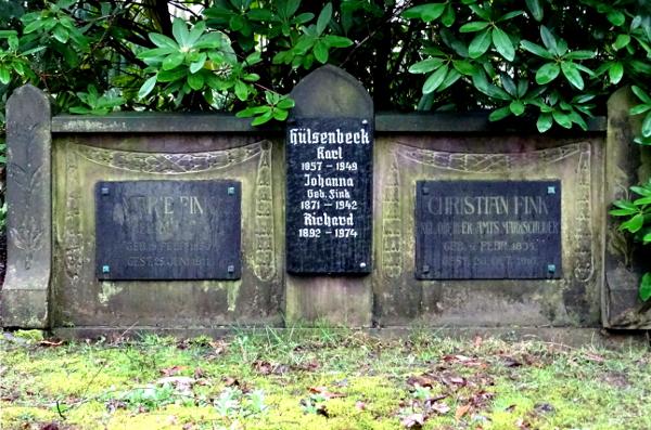 südwestfriedhof dortmund huelsenbeck grab