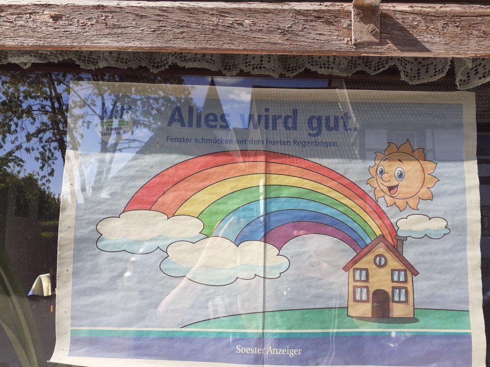 Regenbogen Soester Anzeiger Alles wird gut